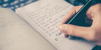 Zo maak je een to-do-lijst die wel werkt